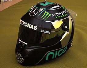 3D F1 Helmet
