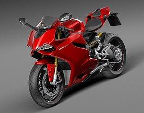 3D model Ducati 1299 Panigale S 2016