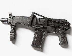 Machine gun cp-3m 3D model