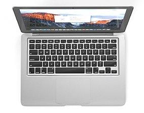 rigged Apple Macbook Air 13 - Element 3D