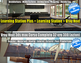 3ds max Learning Station PLUS Locked Subscription un