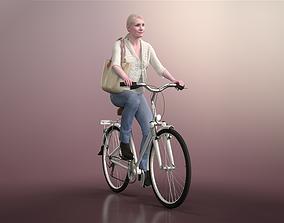 3D model Kim 20120-06 - Animated Bike Riding