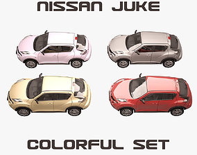 3D Nissan Juke Colorful Set