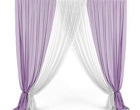 Curtain 3D model 28