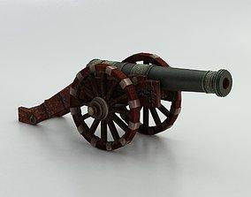 Cannon 02 3D model