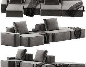 3D Dukas Lay modular sofa