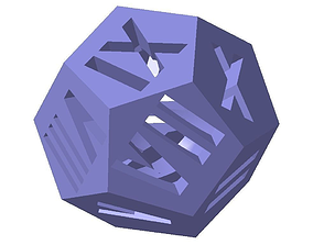 3D print model dodecahedron1