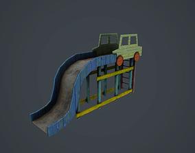 3D asset Soviet Playground set