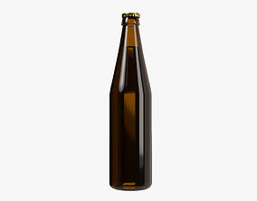 3D model Beer bottle 01