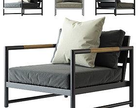 3D HARBOUR Breeze XL Arm Chair