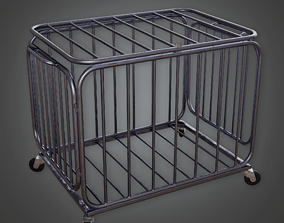 Basketball Cage - HSG - PBR Game Ready 3D model