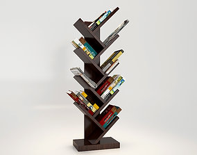 3D model Tree Book Shelf
