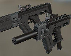 SRU-PDW-K Glock Carbine Kit 3D model
