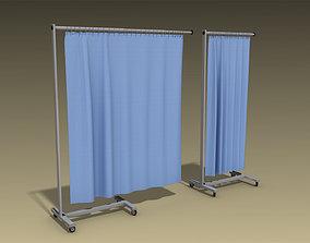 Medical Curtain 3D model
