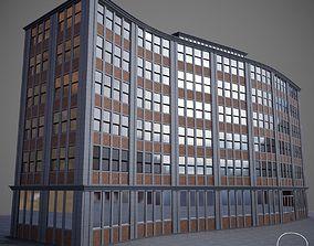 Curved Building 01 3D model