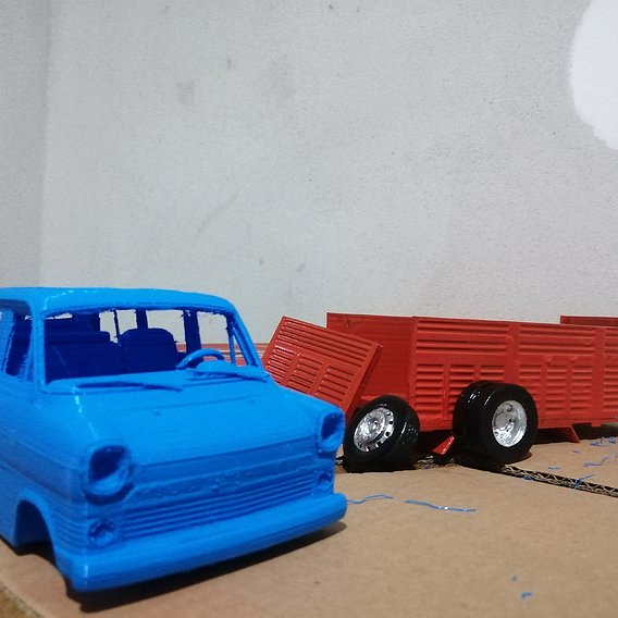FORD TRANSIT 3D PRINT PROJECT FINISH