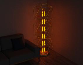 3D model living lamp