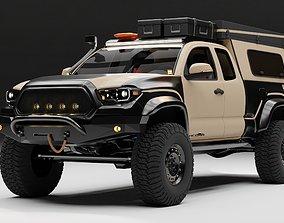 3D Toyota Tacoma 2018 Overlander