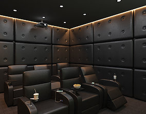 3D Cinema Room Home Theatre