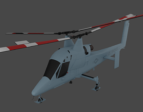 K-MAX - The AERIAL TRUCK Helicopter - US Marines 3D asset