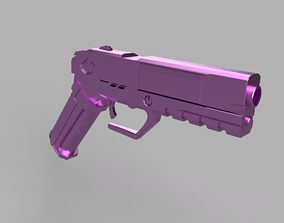 3D printable model Gun from Cyberpunk 2077 - CD PROJEKT