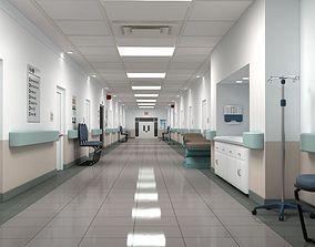 3D Hospital Hallway 2