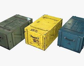 3D model Sci-Fi Crates
