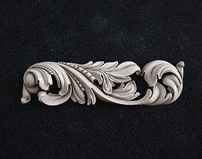 3D printable model art molding