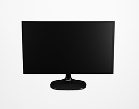 Monitor 24 Inches PC 3D model