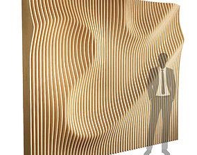 Parametric wall 005 3D