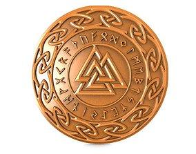 Valkunt Odin Symbol 3D printable model