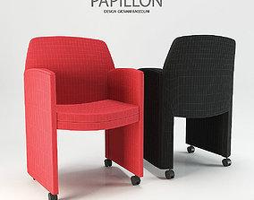3D Ares Line Papillon armchair