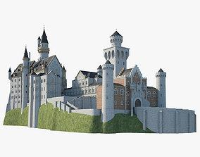 Neuschwanstein Castle 3D
