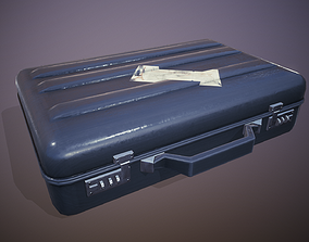 3D model Briefcase - Tutorial Included