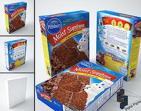 Pillsbury Chocolate Cake Mix 3D