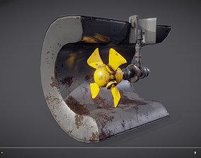 Ship Propeller system 3D model