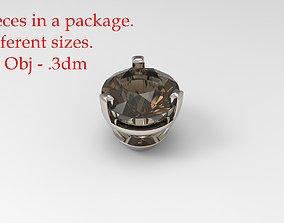 3D print model Jewelry Prong Head 2