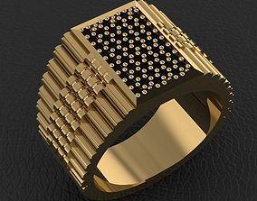 fashion man ring jewelry 15 3D print model