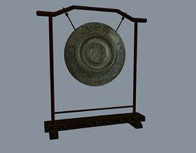 Asian gong 3D model