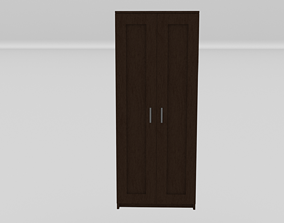 3D tree Wardrobe color wenge for interior