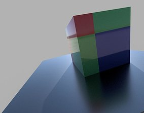 3D printable model Newton s binomial formula in a cube