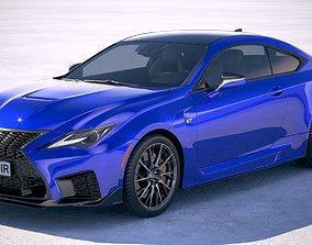 3D Lexus RC F 2020