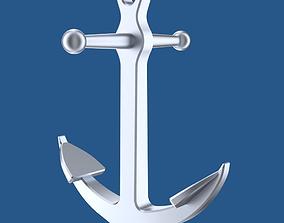 3D model Ship or boat anchor