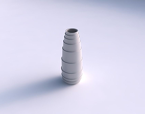 3D printable model Vase Bullet with horizontal layers