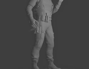 3D print model Rainbow Six Siege Vigil Figure
