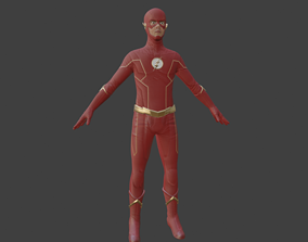 VR / AR ready The Flash Season 6 3D Model