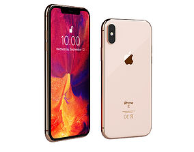 iPhone XS by Apple 3D