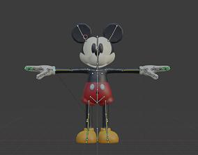 Riggd Mickey 3D