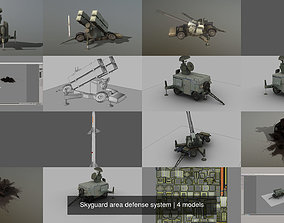 skyguard 3D model Skyguard area defense system