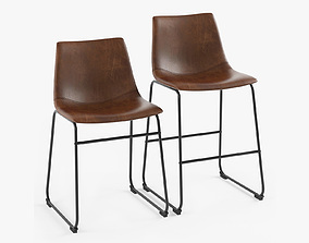 Centiar Adan Dining Chair and Counter Stool 3D model